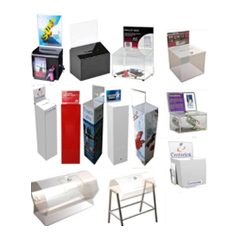 Collection boxes, Entry Boxes, Donation Boxes, Bar