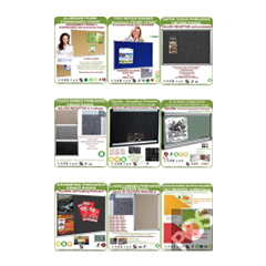 Noticeboards, Corkboards, Feltboards